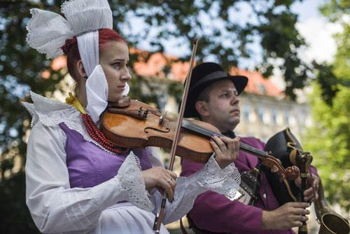 Małgorzata Szymankiewicz, Krzysztof Polowczyk, fot. Piotr Baczewski